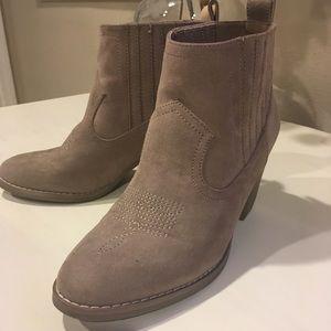 Sugar heel ankle booties